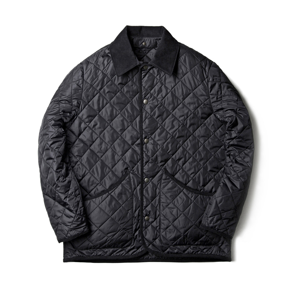 VOL 3. SN26 DIAMOND QUILTED JACKET (BLACK)ESFAI(에스파이)